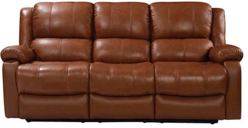 Leather Italia Piper Power Reclining Sofa | Bailey\'s Discount Center